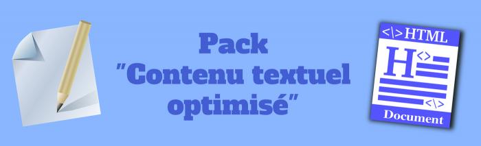 packs offre rédaction-business contenu textuel optimise