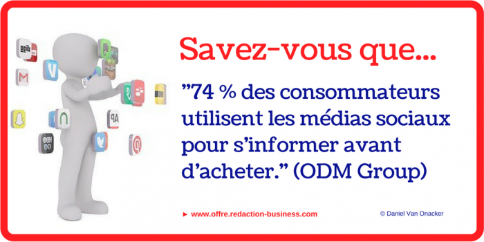 posts socaux ODM Group cadre