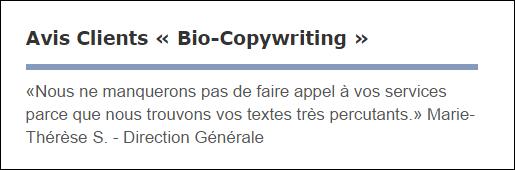 Packs redactionnels Textes de vente avis-clients-soumillion