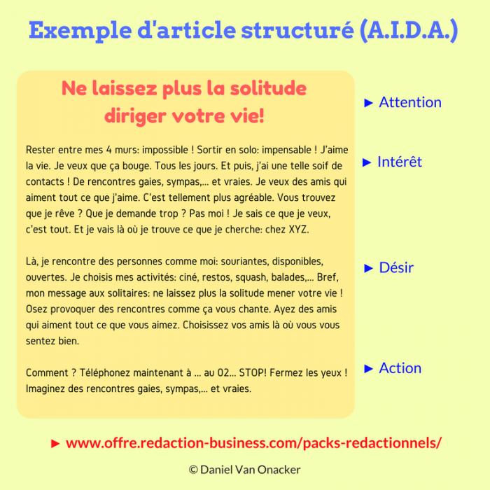 contenu textuel optimise artisans et tpe article aida